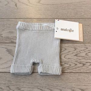Ribbed Knit Shorts 0-3